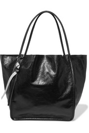 Proenza Schouler Glossed textured-leather tote