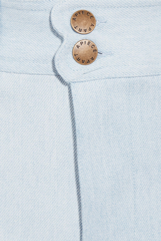 APIECE APART Merida cropped high-rise wide-leg jeans
