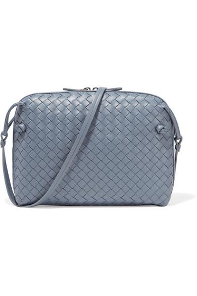 2123718207 Bottega Veneta. Nodini small intrecciato leather shoulder bag