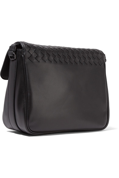 Bottega Veneta Saddle kleine Schultertasche aus Intrecciato-Leder Verkauf Exklusiv zP6b0eG8