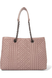 Bottega Veneta Shopper large intrecciato leather tote