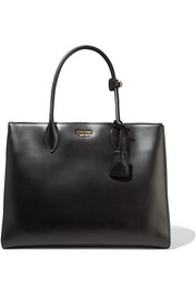 Prada Bibliothèque large leather tote