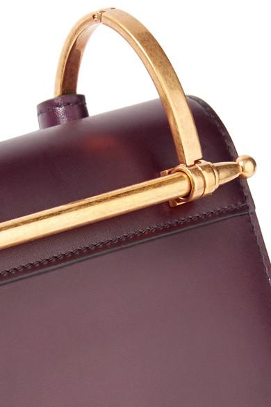 Pattina Leather Shoulder Bag - Merlot Prada rNOIryrn