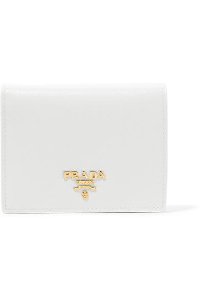 1f522da025e7e Prada. Portemonnaie aus strukturiertem Leder