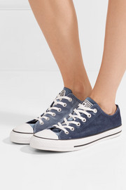 Converse Chuck Taylor All Star velvet sneakers