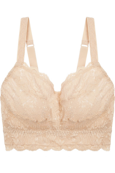 5d73f7048a Cosabella. Never Say Never Curvy Sweetie stretch-lace soft-cup bra
