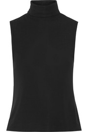 Wendel stretch-jersey turtleneck top
