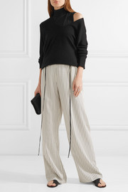 Theory Wendel stretch-jersey turtleneck top