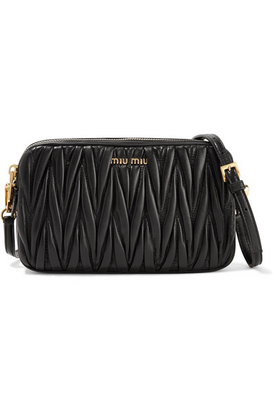 38db993e033 Miu Miu. Matelassé leather camera bag