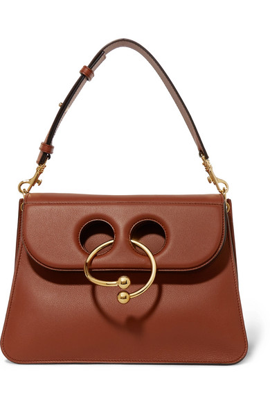 J.W.Anderson - Pierce Medium Leather Shoulder Bag - Tan