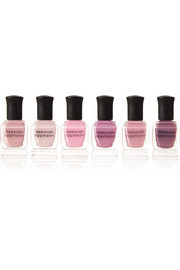 Deborah Lippmann Bed of Roses Set of Six Nail Polishes