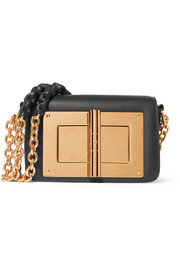 TOM FORD Natalia embellished leather shoulder bag