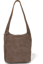 Finley suede shoulder bag