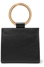 Deuces textured-leather tote
