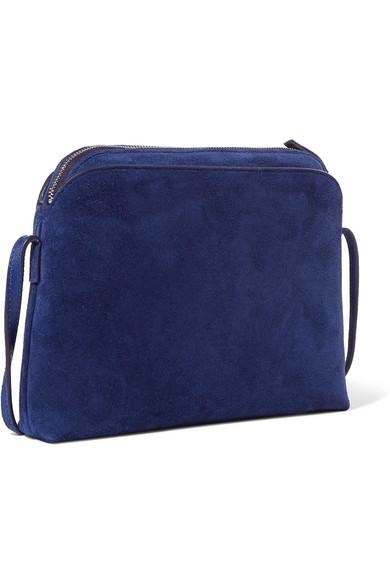 ed7789414 The Row   Multi Pouch suede shoulder bag   NET-A-PORTER.COM