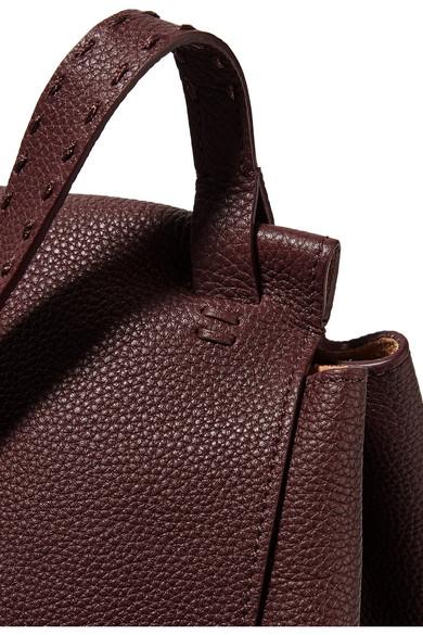 The Row Top Handle 14 Schultertasche aus strukturiertem Leder Billig Authentisch Freies Verschiffen Finish Größte Lieferant Für Verkauf lTuySQC3x