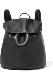 The Row Textured-leather backpack