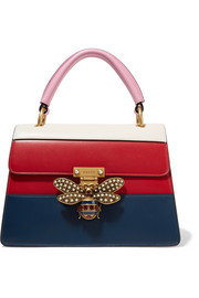 Gucci Queen Margaret embellished leather tote