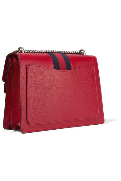 021cbfba8010 Gucci | Dionysus medium textured-leather shoulder bag | NET-A-PORTER.COM