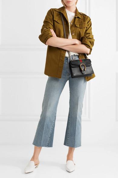 b9f7a054e1f Dionysus mini textured-leather shoulder bag