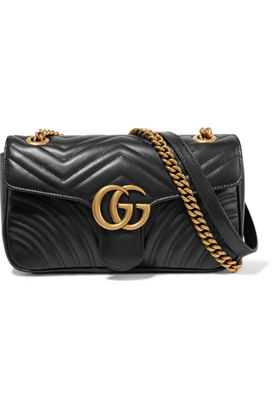 ddd70e45d4a Gucci. GG Marmont small quilted leather shoulder bag