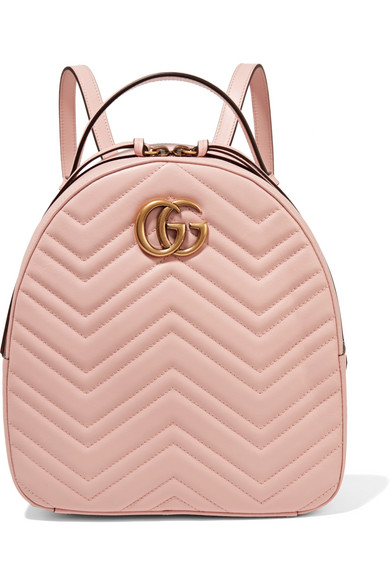 GG Marmont Quilted Backpack