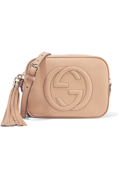 30e38c6cbdd Gucci. Soho Disco textured-leather shoulder bag