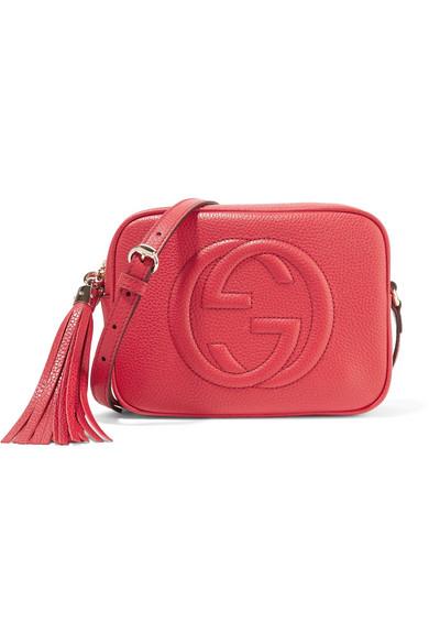 gucci female gucci soho disco texturedleather shoulder bag one size
