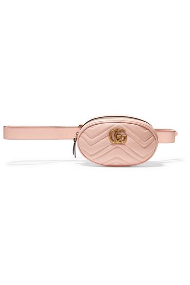 e4c3ddaa8134 Gucci | GG Marmont matelassé leather belt bag | NET-A-PORTER.COM