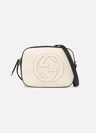 ba81b72c89bb Gucci. Soho Disco textured-leather shoulder bag