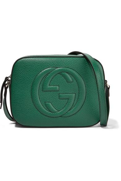 8176d5a0e9f5 Gucci. Soho Disco textured-leather shoulder bag