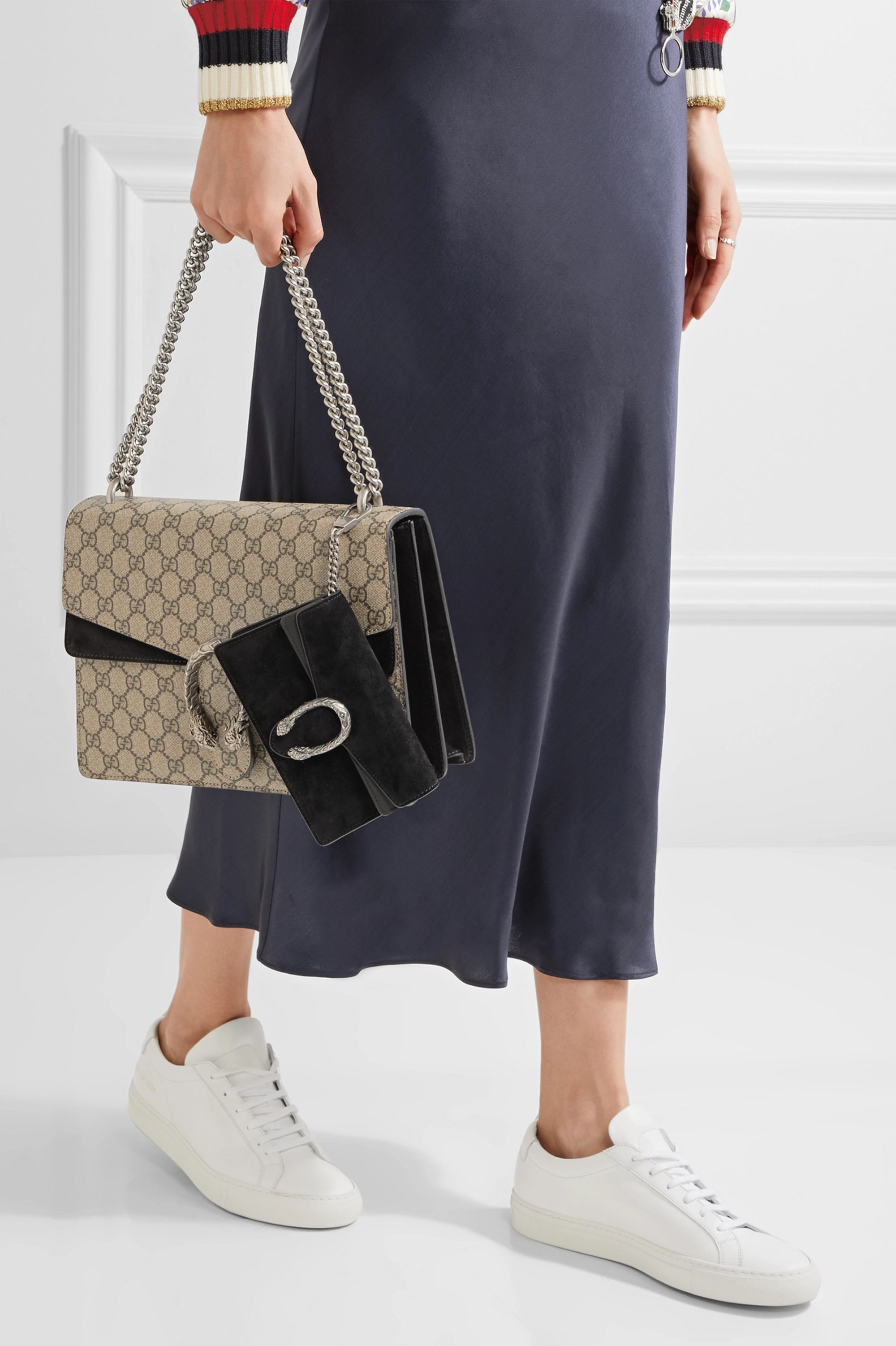 Gucci Dionysus super mini suede shoulder bag