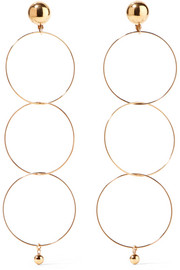 Stella McCartney Gold-tone earrings