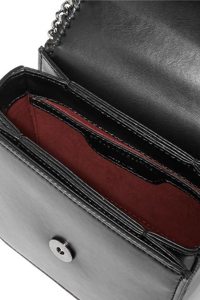 Stella McCartney Falabella Box kleine Schultertasche aus Kunstleder