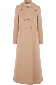 Chloé Double-breasted wool-blend twill coat