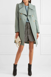 Chloé Double-breasted wool-blend felt coat