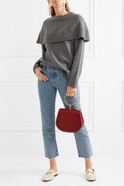 Chloé Oversized layered cashmere sweater