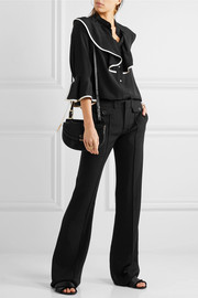Chloé Wide leg cady pants