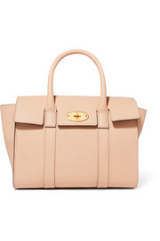 The Bayswater small textured-leather tote