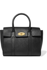 Bayswater small textured-leather tote