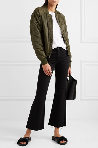 Vince | Quilted shell bomber jacket | NET-A-PORTER.COM : vince quilted jacket - Adamdwight.com