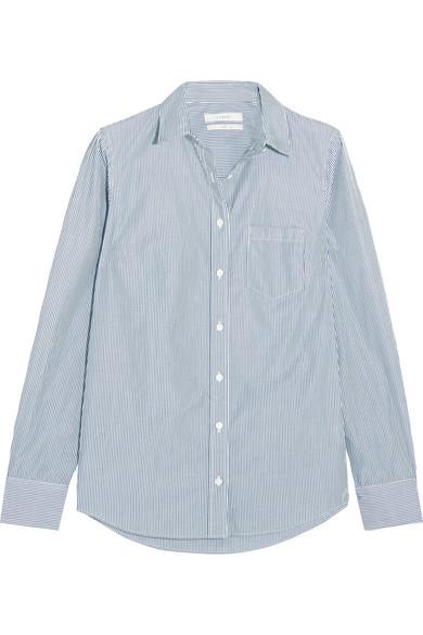 J.Crew - Boy Striped Cotton-poplin Shirt - Navy