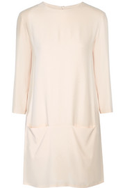 The Row Marina crepe tunic dress