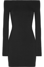 The Row Hunting stretch modal-blend mini dress