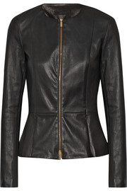 Anasta leather jacket