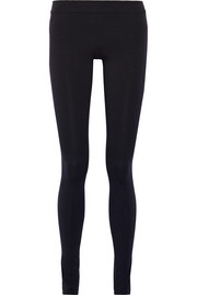 The Row Stratton stretch-jersey leggings