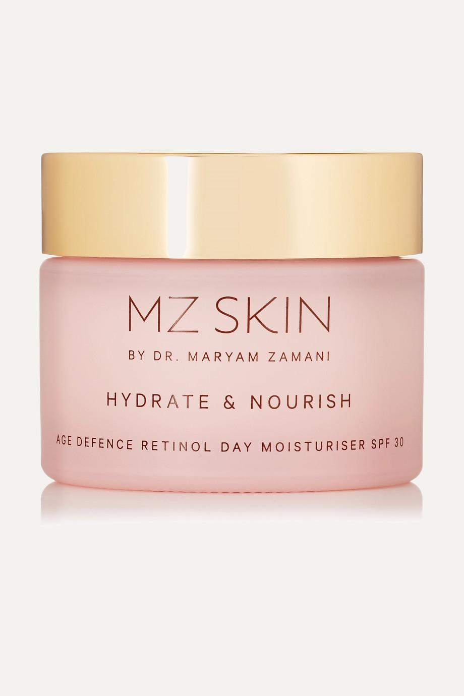 MZ Skin Hydrate & Nourish Age Defence Retinol Day Moisturizer SPF30, 50ml