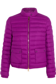 Actea quilted cashmere down jacket