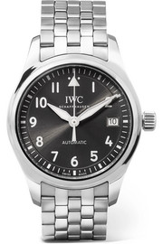 IWC SCHAFFHAUSEN Pilot's Automatic 36 stainless steel watch