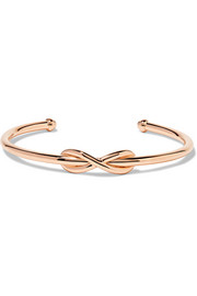 Tiffany & Co Infinity 18-karat rose gold cuff